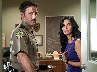 FIRST LOOK: Courteney Cox & David Arquette in Scream 4