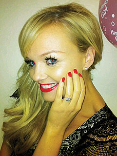 Emma Bunton of Spice Girls Gets Engaged