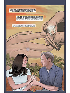 PHOTO: See Will And Kate As Comic Book Characters!| Weddings, Kate Middleton, Prince William