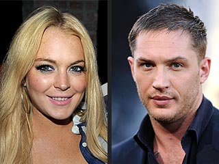 Lindsay Lohan: Tom Hardy Is Just a Friend | Lindsay Lohan, Tom Hardy