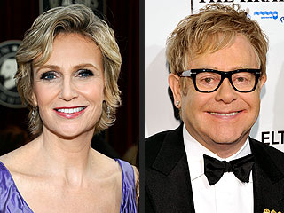Jane Lynch: Elton John and Sue Sylvester Will Hit It Off | Elton John, Jane Lynch