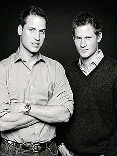 Prince William and Prince Harry New Official Portrait