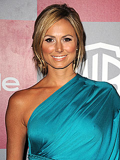 Stacy Keibler Roots for the Green Bay Packers