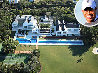 Tiger woods 39 s florida house is sinking Images of tiger woods house