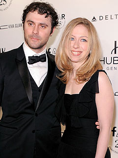 Chelsea Clinton & Marc Mezvinsky Stick Close in N.Y.C.