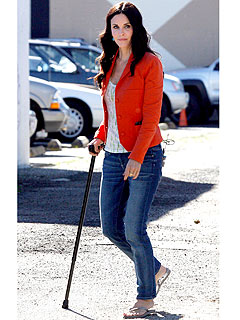 Why Is Courteney Cox a 'Cougar' with a Cane?