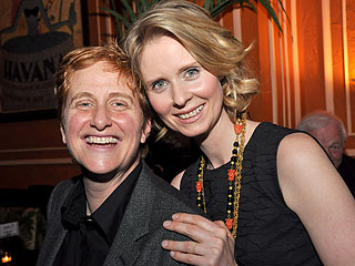 Cynthia Nixon & Christine Marinoni Welcome a Son