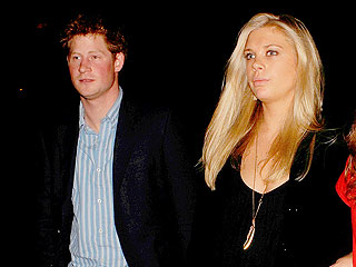 Inside Prince Harry and Chelsy Davy's Cozy Dinner