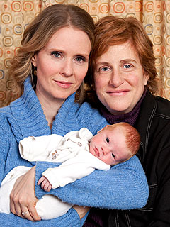 PHOTO: Meet Cynthia Nixon's Newborn Son | Cynthia Nixon