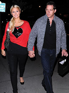 Paris Hilton & Cy Waits Shop for Engagement Rings