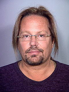PHOTO: Rocker Vince Neil Sports Spectacles for His Mug Shot