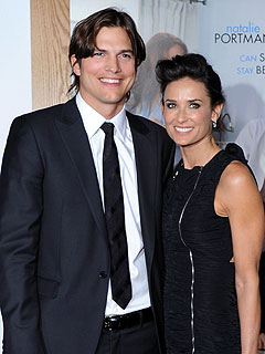 ashton kutcher 240 Ashton Kutcher, Demi Moore Spotted at Services