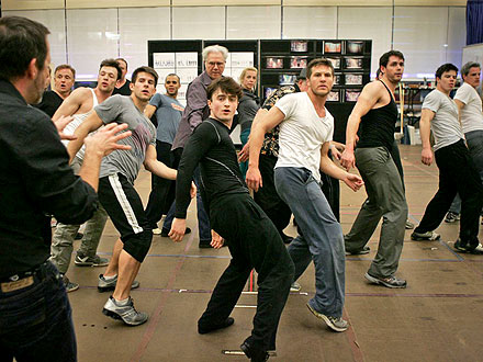 FIRST LOOK: Daniel Radcliffe Sings & Dances on Broadway!