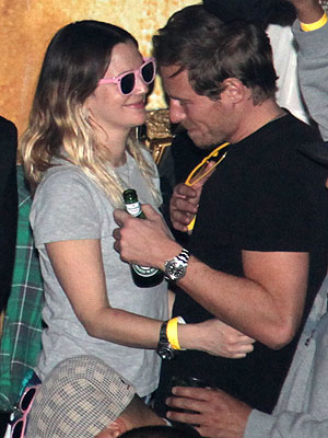 Drew Barrymore Spotted with a New Guy| Couples, Drew Barrymore