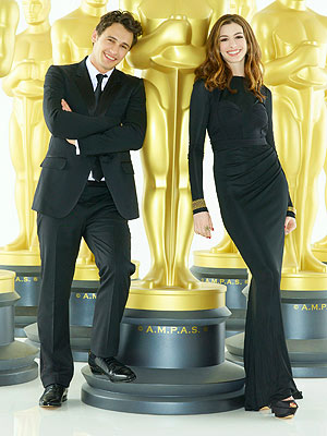 Anne Hathaway & James Franco as Oscar Hosts: Thumbs Up or Down?