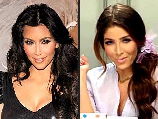 Kim Kardashian look alike Melissa Molinaro