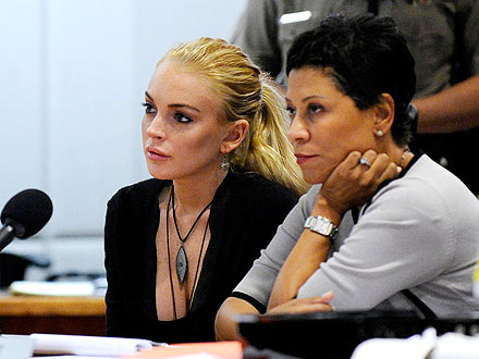 Lindsay Lohan Would Get Jail in a Plea Deal, Judge Says
