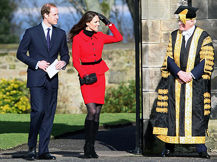 Prince William and Kate Middleton Return to St. Andrews