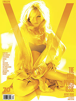 Britney Spears Strikes Sultry Pose as Cover Girl Once Again