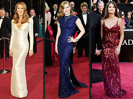 Hollywood's New Moms Hit the Red Carpet | Amy Adams, Celine Dion, Penelope Cruz