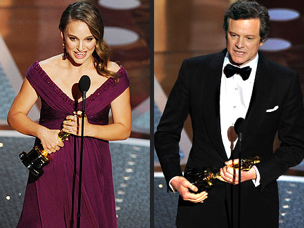 Natalie Portman, Colin Firth Are Top Oscar Winners
