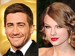 Jake Gyllenhaal & Taylor Swift's Oscar Party Run-In | Jake Gyllenhaal, Taylor Swift