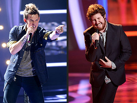 American Idol Vote Begins - Jacob Lusk, Casey Abrams Impress