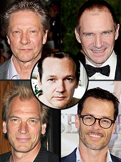 POLL: Who Should Play WikiLeaks' Julian Assange in the Movie? | Chris Cooper, Guy Pearce, Julian Assange, Julian Sands, Ralph Fiennes