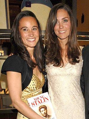 kate middleton sister pippa. Kate Middleton. Pippa (left)