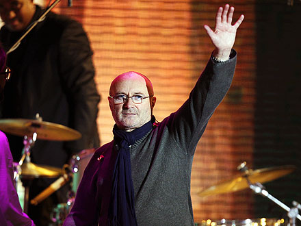 Phil Collins About His Temporary Retire