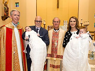 INSIDE STORY: Céline Dion's Twins Are Baptized in Las Vegas | Celine Dion