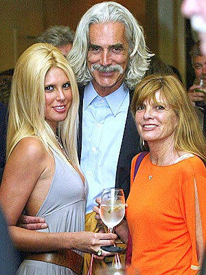Cleo Rose Elliott, Sam Elliott and Katherine Ross in 2005
