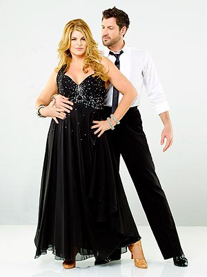 Maksim Chmerkovskiy and Kirstie Alley Fall on Dancing with the Stars