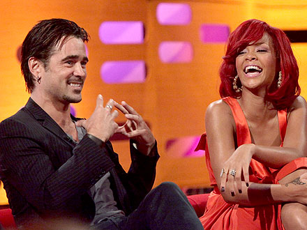 Is Rihanna Dating Colin Farrell?