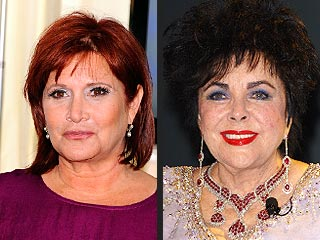 Carrie Fisher Remembers Elizabeth Taylor – the Family Drama, the Love | Carrie Fisher, Elizabeth Taylor