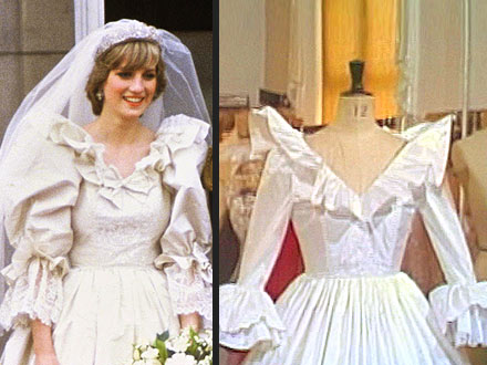Princess Diana's Spare Wedding Dress Revealed