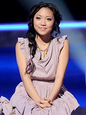 American Idol Results - Thia Megia