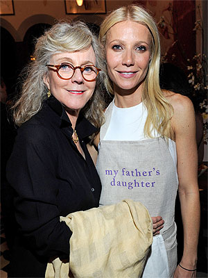 Gwyneth Paltrow: My Family Has Never Cooked for Me | Blythe Danner, Gwyneth Paltrow