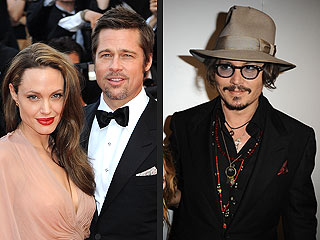 Brad Pitt, Angelina Jolie, Johnny Depp Bound for Cannes
