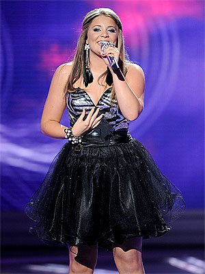 American Idol's Lauren Alaina Talks About Meeting Miley Cyrus | Lauren Alaina