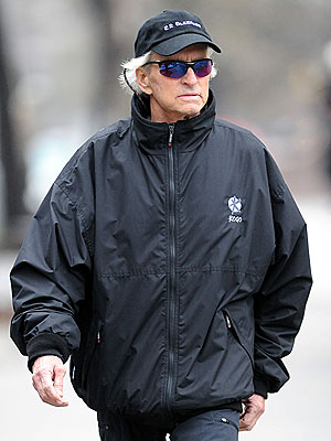 Catherine Zeta-Jones Gets Treatment - Michael Douglas Steps out Solo in N.Y.