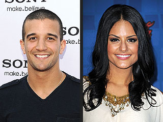 Pia Toscano & Mark Ballas Together on DWTS