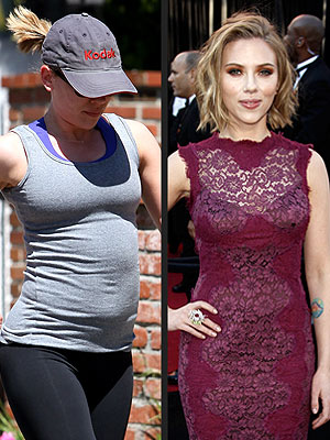 Scarlett Johansson Not Pregnant with Sean Penn's Baby