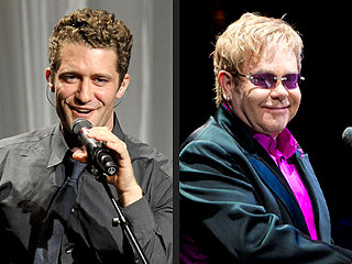 Glee's Matthew Morrison Duets with Elton John on New Album