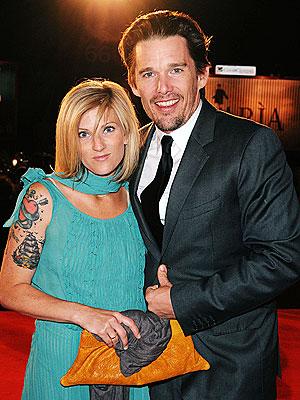 Ethan Hawke's Wife Ryan Pregnant