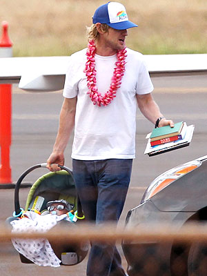 PHOTO: Meet Owen Wilson's Son