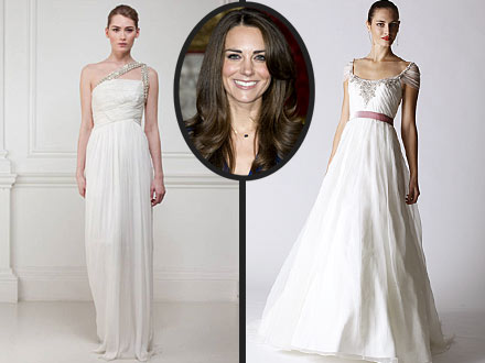 Royal Wedding Dresses For Kate Middleton