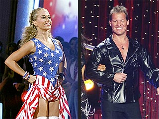 Did Kendra Wilkinson's Shimmy Save or Sink Her on Dancing?   Chris Jericho, Kendra Wilkinson