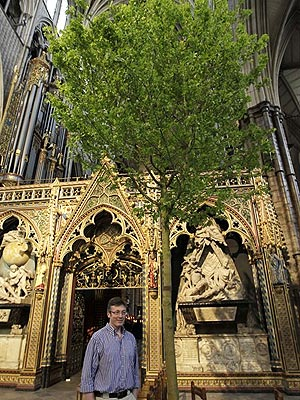 Royal Wedding: Flowers at Westminster Abbey for Kate Middleton & Prince William