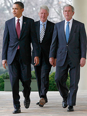 President Obama Briefed Bush, Clinton on bin Laden's Death